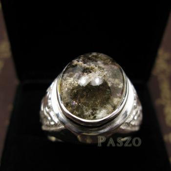 แหวนโป่งข่าม แหวนพลอยผู้ชาย แหวนแก้วปวก #6