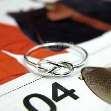 แหวนแห่งรักนิรันดร์ แหวนเงินแท้ infinity แหวนรุ่นเล็ก