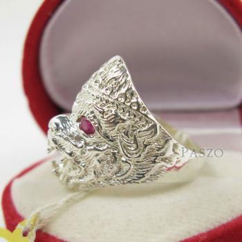 แหวนหนุมาน พลอยสีแดง พลอยทับทิม #2