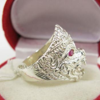 แหวนหนุมาน พลอยสีแดง พลอยทับทิม #3