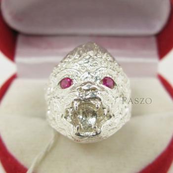 แหวนหนุมาน พลอยสีแดง พลอยทับทิม #4