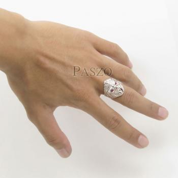 แหวนหนุมาน พลอยสีแดง พลอยทับทิม #5
