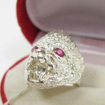 แหวนหนุมาน พลอยสีแดง พลอยทับทิม #6