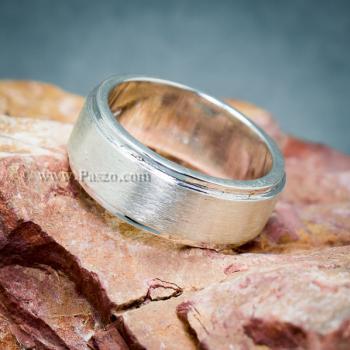 แหวนเกลี้ยง แหวนลดระดับขอบ หน้ากว้าง8มิล #5