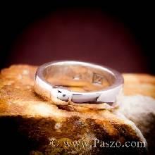 แหวนเงินแท้ 925 แหวนเกลี้ยง