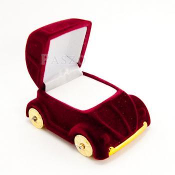 กล่องใส่แหวนรถเต่า กล่องใส่แหวนหุ้มกำมะหยี่  #5