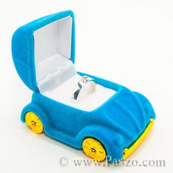 กล่องใส่แหวนรถเต่า กล่องใส่แหวนหุ้มกำมะหยี่  #8