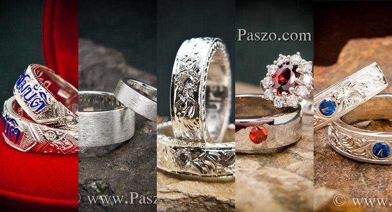 แหวนคู่ แหวน2วง ชุดแหวน2วง ชุดแหวนสองวง ชุดแหวนคู่