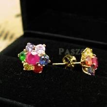 ต่างหูทอง ต่างหูดอกพิกุล