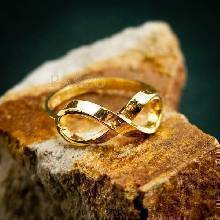 แหวนอินฟินิตี้ แหวนทอง infinity ring แหวนทอง90