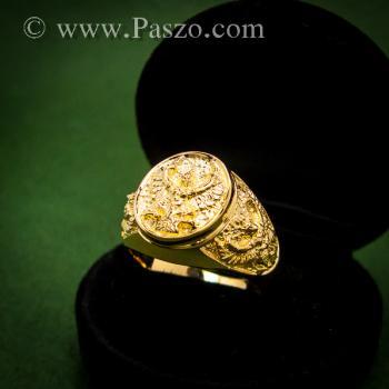 แหวนพญาครุฑ แหวนทอง90 แหวนทองผู้ชาย #3