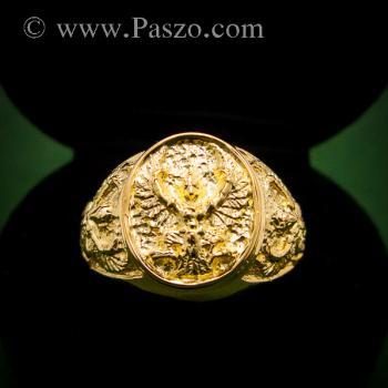 แหวนพญาครุฑ แหวนทอง90 แหวนทองผู้ชาย #4