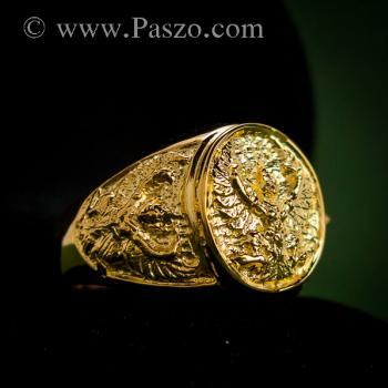 แหวนพญาครุฑ แหวนทอง90 แหวนทองผู้ชาย #7