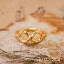 แหวนอินฟินิตี้ infinity แหวนทองแท้ แหวนผู้หญิง