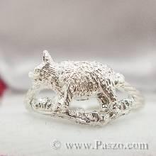 แหวนปีกุน แหวนปีหมู แหวนเงินแท้ แหวน12นักษัตร