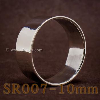 แหวนเกลี้ยงหน้าเรียบ กว้าง10มิล แหวนเกลี้ยง #3