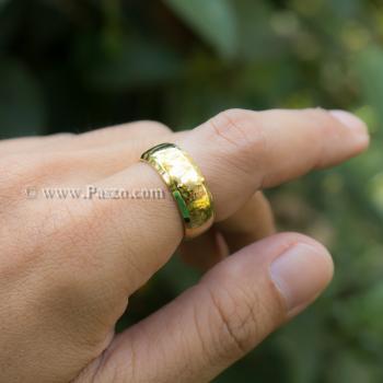 แหวนเกลี้ยง แหวนทองชุบ หน้ากว้าง8มิล #8