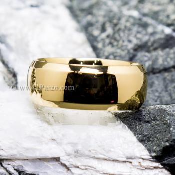 แหวนเกลี้ยง แหวนทองชุบ หน้ากว้าง8มิล #7