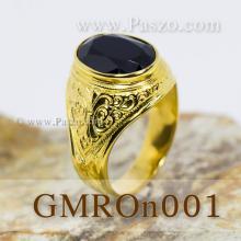 แหวนนิล แหวนทองผู้ชาย แหวนทอง แหวนมอญ แหวนผู้ชาย แหวนพลอยสีดำ