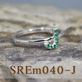 แหวนตัวอักษร แหวนตัวเจ J #3