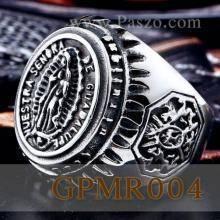แหวนพระแม่มารี แหวนผู้ชาย พระแม่มารี แหวนสแตนเลส
