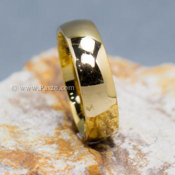 แหวนทอง แหวนเกลี้ยง แหวนหน้าโค้ง #3
