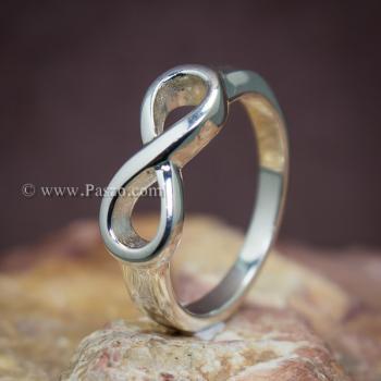 แหวนอินฟินิตี้ แหวนเงินแท้ Infinity #5
