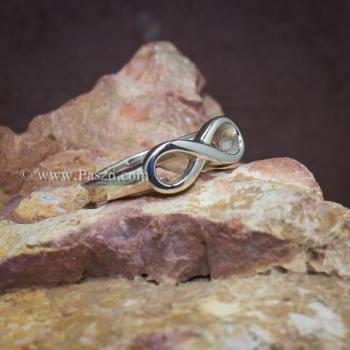 แหวนอินฟินิตี้ แหวนเงินแท้ Infinity #3