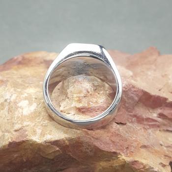 แหวนผู้ชาย พลอยสีม่วง แหวนสแตนเลส #3