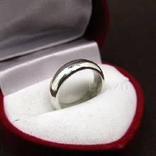 แหวนเกลี้ยงหน้าโค้ง กว้าง4มิล แหวนปลอกมีด แหวนขอบมน แหวนเกลี้ยง แหวนเงินเกลี้ยง
