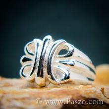 แหวนพันธะสัญญา แหวนบ่วงแห่งความรัก แหวนเงินแท้ 925