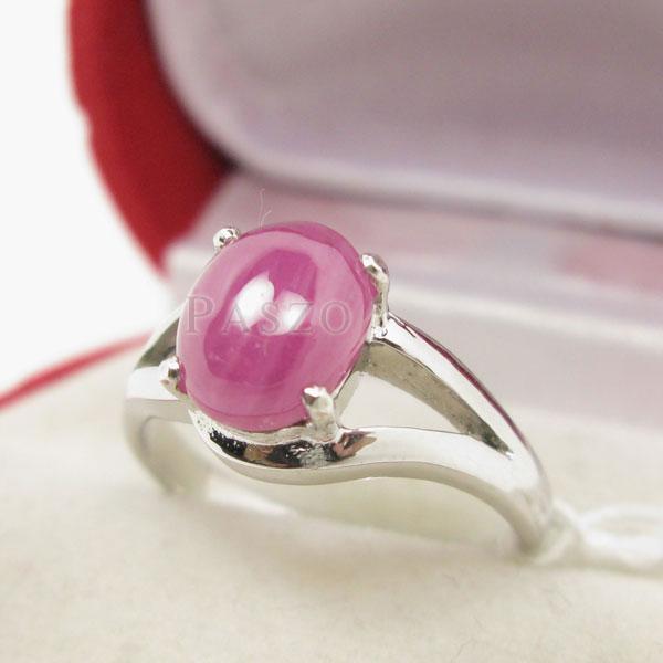 แหวนพลอยทับทิม พลอยแท้ แหวนพลอยเม็ดเดี่ยว #3