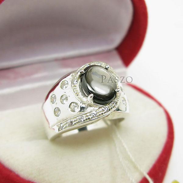 แหวนพลอยแบล็คสตาร์ Black Star #2