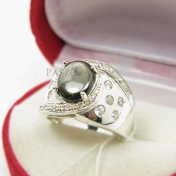 แหวนพลอยแบล็คสตาร์ Black Star #3