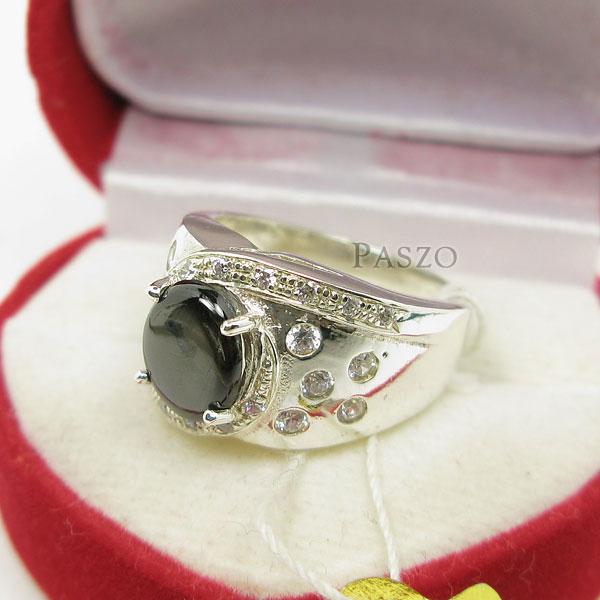 แหวนพลอยแบล็คสตาร์ Black Star #4