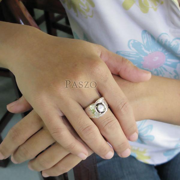 แหวนพลอยแบล็คสตาร์ Black Star #5