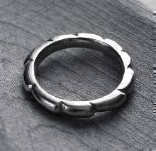แหวนกงจักร แหวนเงินแท้