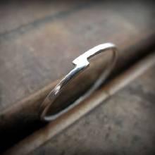 แหวนเงินเกลี้ยง แบบเรียบง่าย แหวนเงินแท้