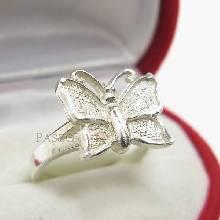 แหวนผีเสื้อ แหวนเงินแท้ 925